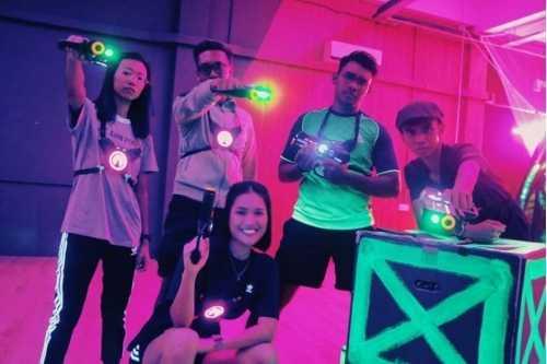 Neon Laser Tag - Laser Tag Singapore