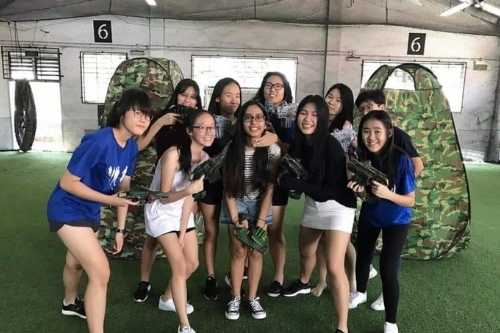 Laser Tag Singapore - Team Building