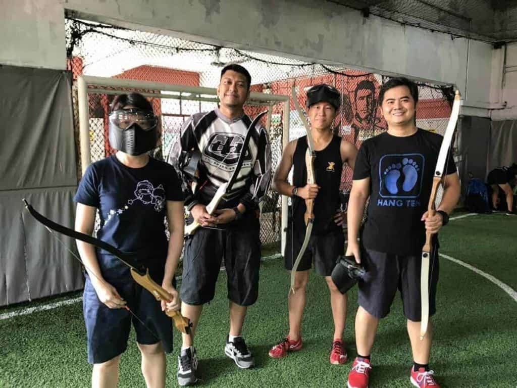 Combat Archery Tag - What to do in Singapore