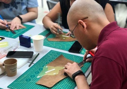 Virtual Leather Workshop - Large Group Activities