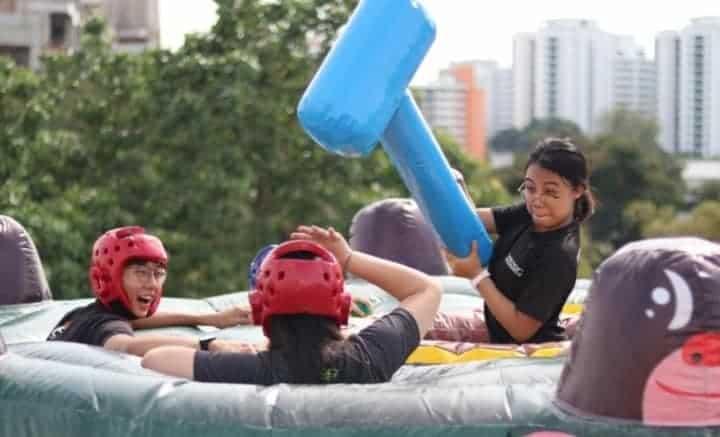 team building Sentosa - team building games Singapore