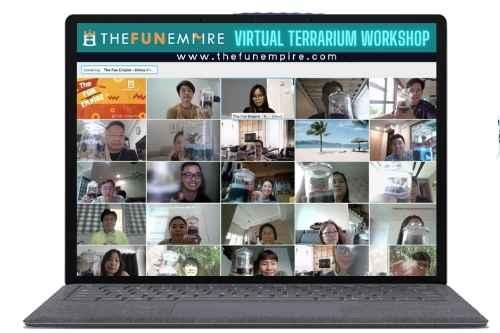 virtual team building - team building games Singapore